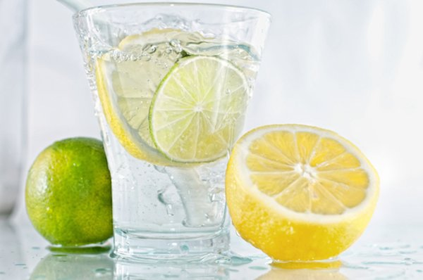 lemon lime detox water recipe