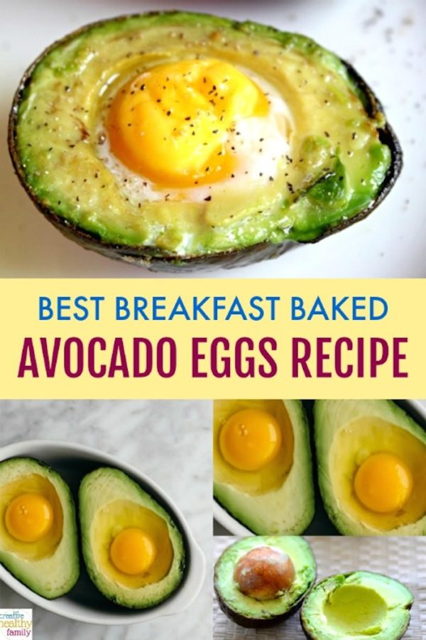 Best breakfast baked avocado egg recipe