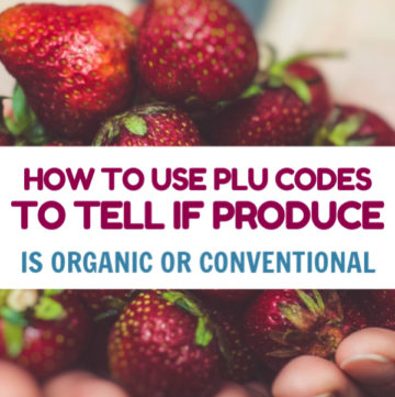 There is one important thing in my mind when buying fresh fruits and vegetables. Identify Organic vs Conventional Produce With PLU Codes.