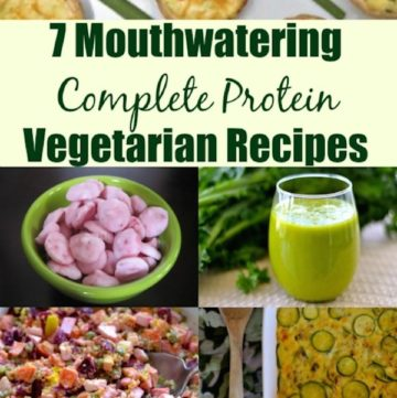 complete protein vegetarian recipes