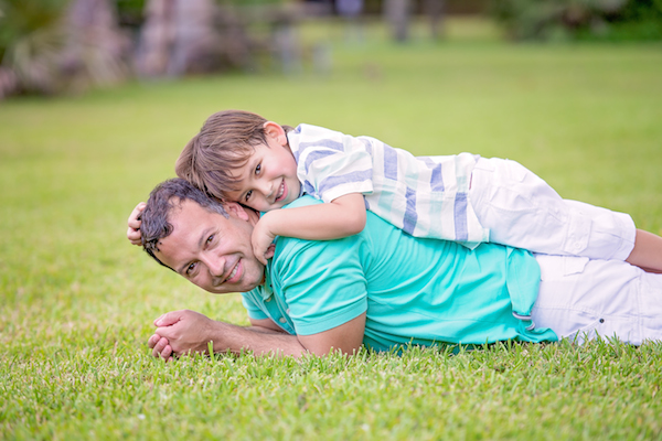 Are Dads Helping with the Kids or Experiencing Paternity?