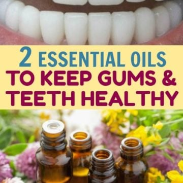 essential oils for teeth health
