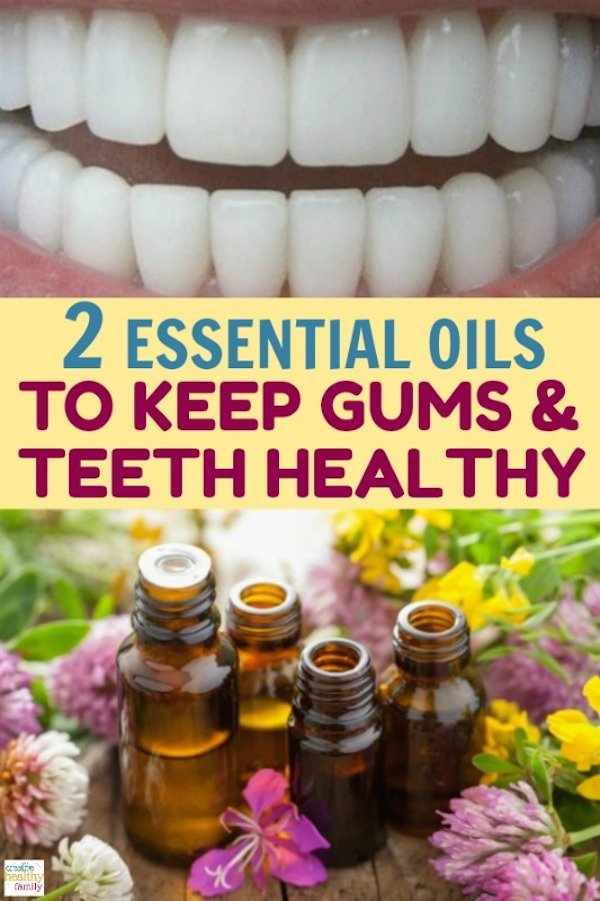 2 essential oils to keep gums and teeth healthy