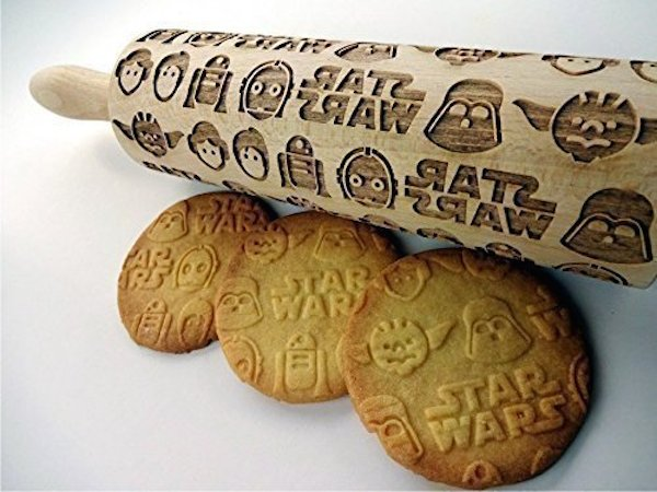 Give Cookies An Artistic Look With Embossed Rolling Pins