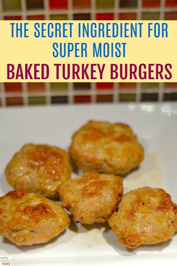 moist baked turkey burgers