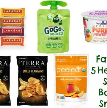 My Favorite 5 Healthy Store Bought Snacks