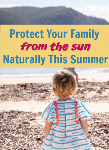 Want to protect your family from the sun naturally this summer? Read on to learn why zinc sunscreen is the way to go, plus check out my favorite brand!
