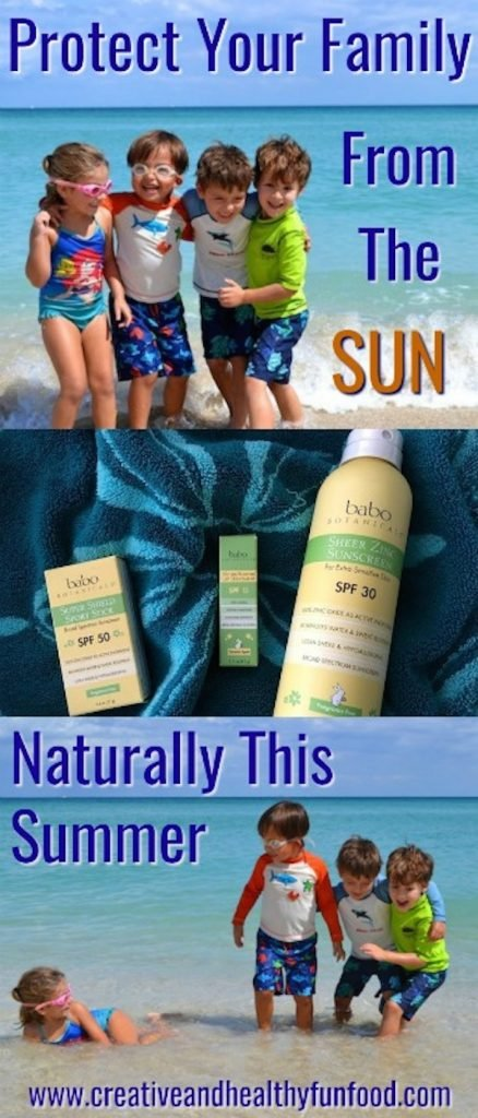 protect your family from the sun naturally