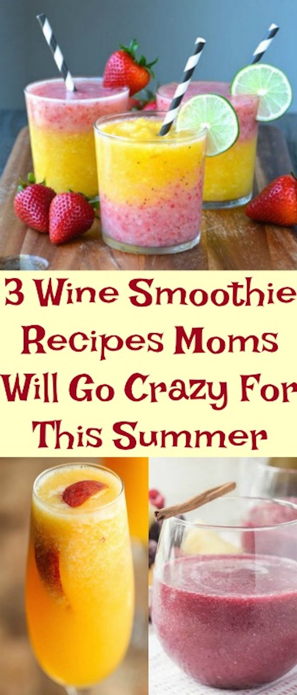 wine smoothie recipes