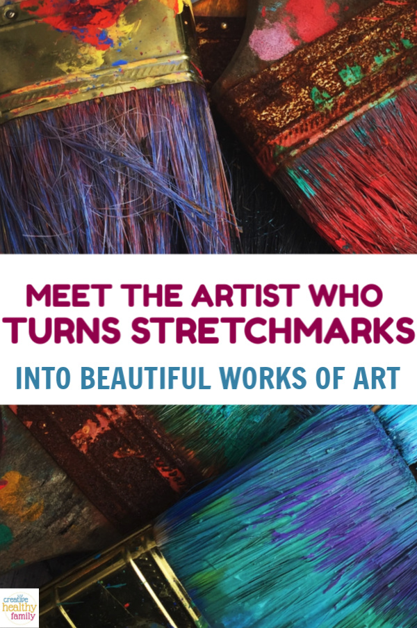 Stretch marks. Look at them, read them, discover them, love them. Meet The Artist That Transforms Stretch Marks Into Works Of Art.