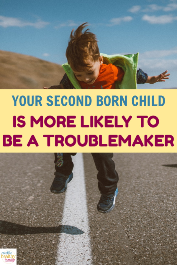 Research is now showing that birth order can have an effect on children's behavior. Your Second Born Child Is More Likely To Be A Troublemaker.
