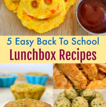 5 Easy Back To School Lunchbox Recipes