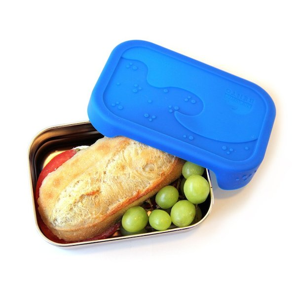 big sandwich plastic free container