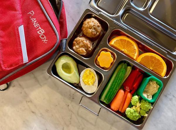 bento green lunch box