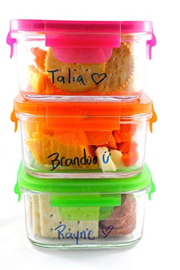 glass containers for school lunch