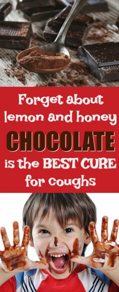 Chocolate Is The Best Cure For Coughs