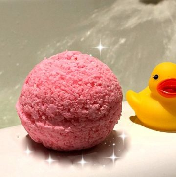 How To Make Kids Detox Bath Bombs