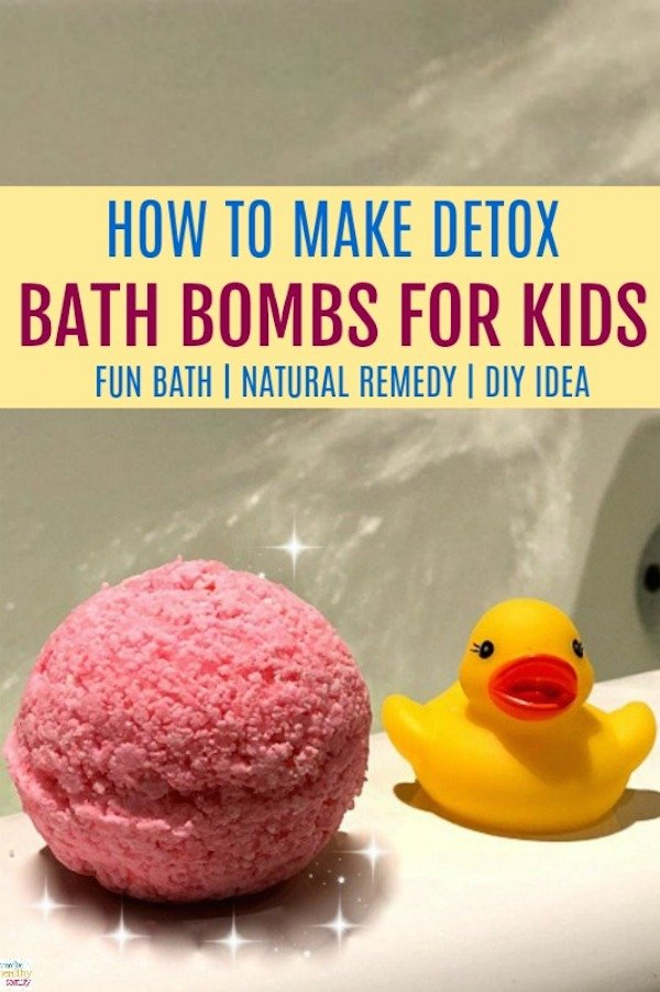 How To Make Kids Detox Bath Bombs Creative Healthy Family