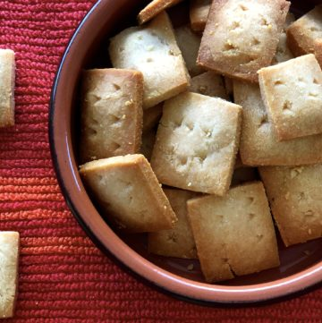 Best Easy 2 Ingredient Parmesan Cheese Crackers