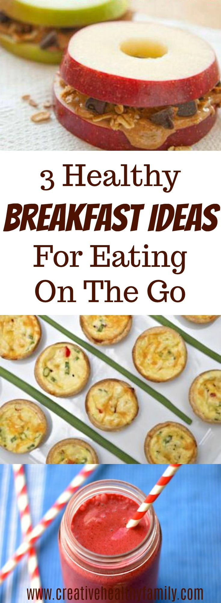 3 healthy breakfast ideas for eating on the go