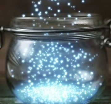 DIY Magical Fairies In a Jar Lamps