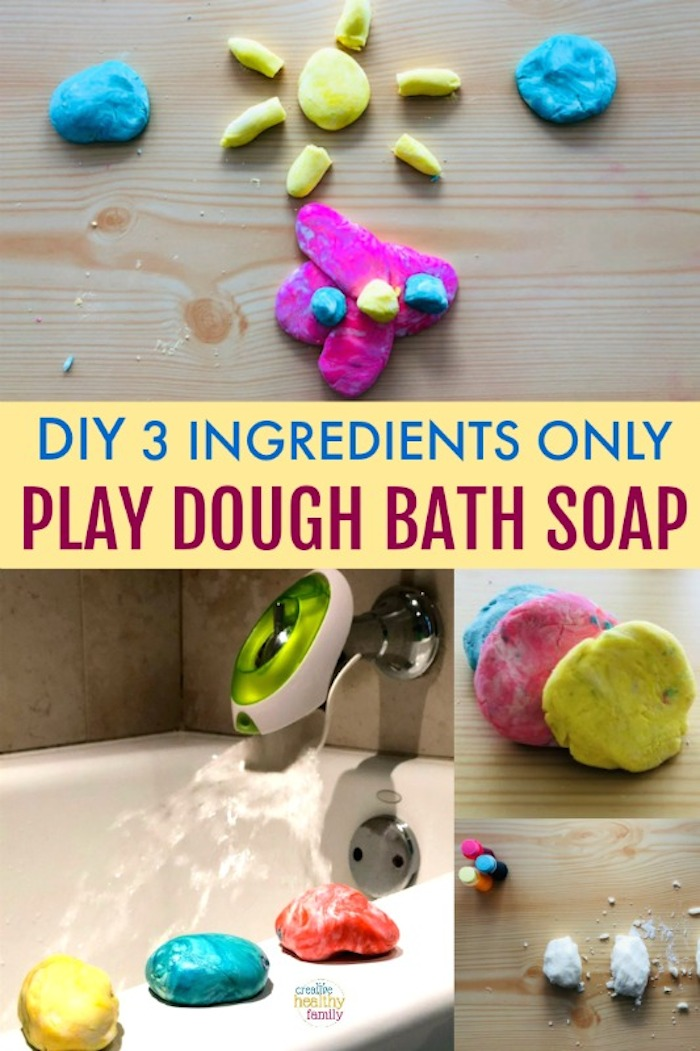 play dough for bath