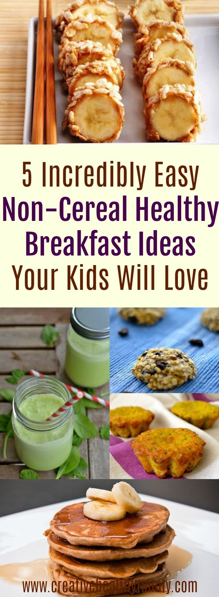 5 incredibly easy non cereal healthy breakfast ideas your kids will love