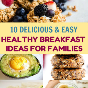 If you are looking for homemade recipes that are easy to make and good for the entire family, then check out The Best Healthy Breakfast Ideas For Families.