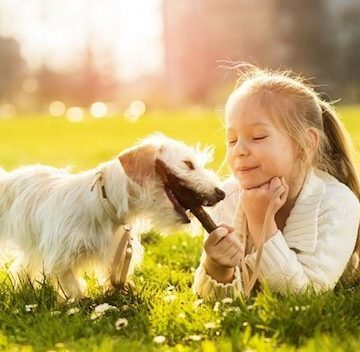 Children Growing Up With Dogs Are Less Likely To Suffer Mental Health Issues