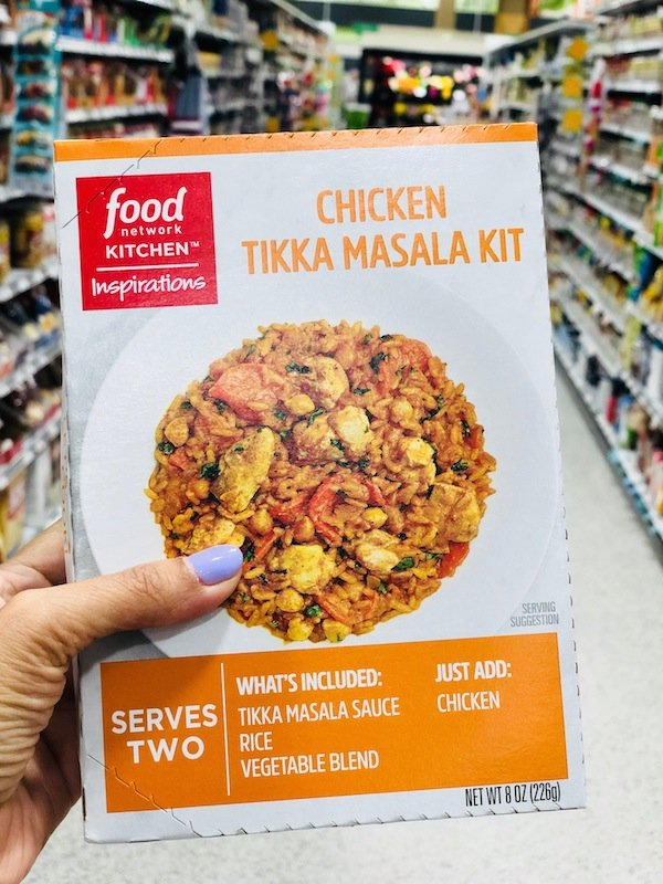 Food Network Kitchen Inspirations Chicken Tikka Masala Meal Kit