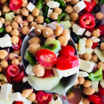 Greek Salad With a Twist