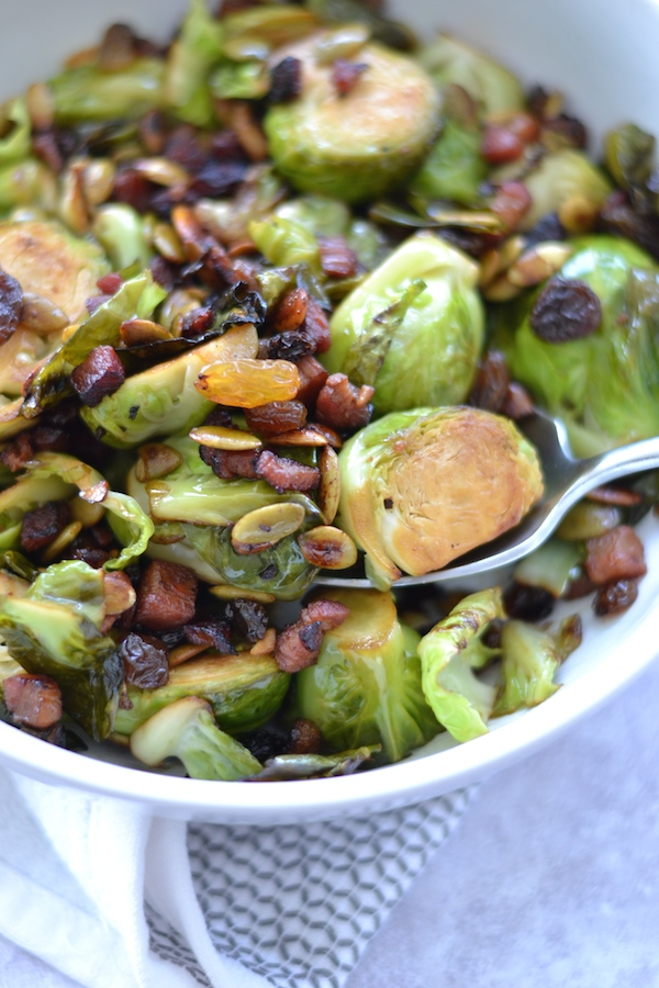 Perfect Harvest Brussels Sprouts With Crispy Pancetta
