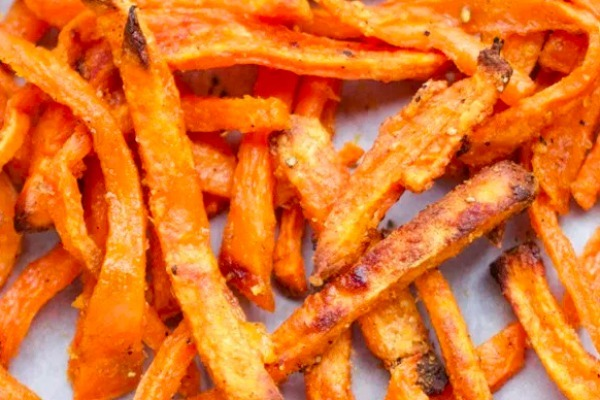 How To Make Perfect Baked Sweet Potato Fries Creative Healthy Family