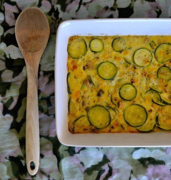 zucchini pie comfort food