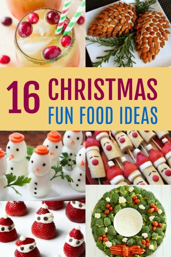fun christmas food ideas