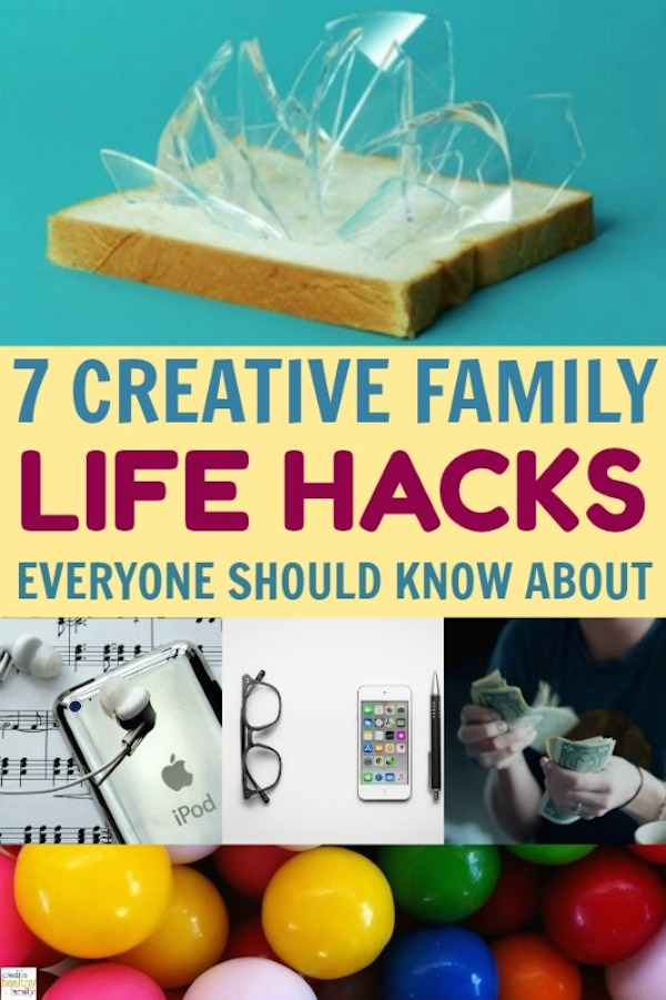 life hacks every family needs to know. Tips and tricks for your home.