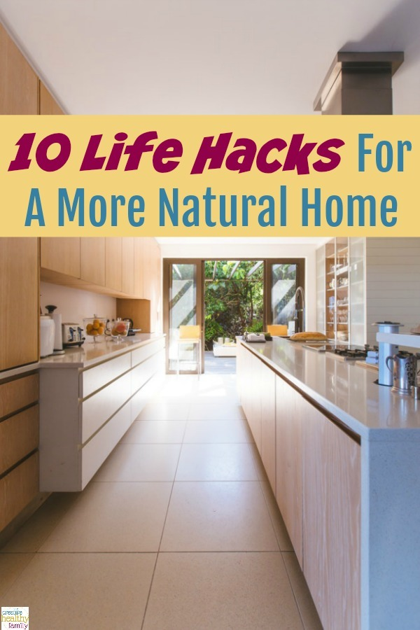 life hacks natural home