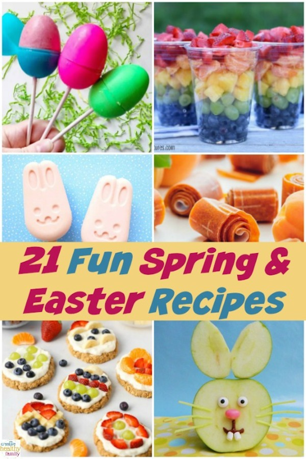 fun spring and easter recipes