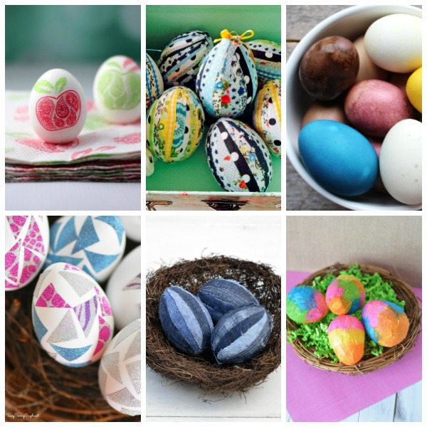 easter egg natural DIY ideas