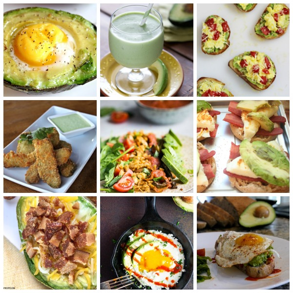 10 Easy & Healthy Avocado Breakfast Recipes