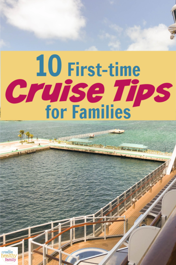 If you're planning on hitting the high seas for your next getaway, you'll definitely want to check out my first-time cruise tips for families!