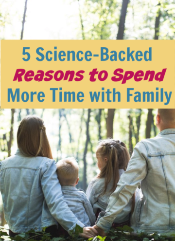 You already know that spending time with your family strengthens your bond, but did you know that family time has other science-backed benefits? Learn more!