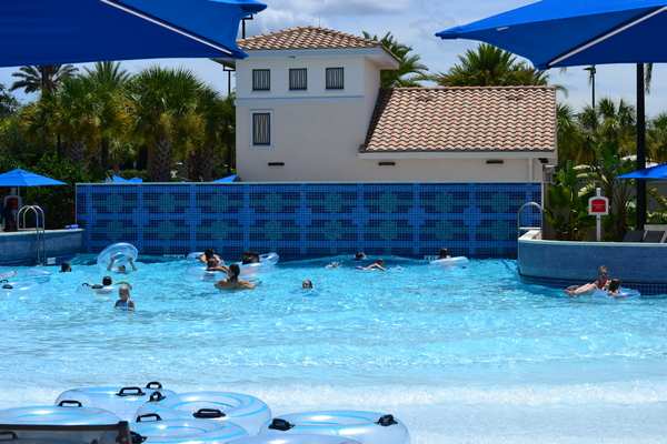 The Omni Orlando is home to Orlando's only wave pool at a resort!