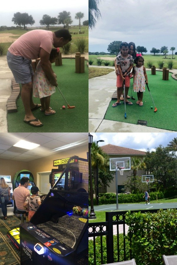 Other fun activities for families at the Omni Orlando Resort