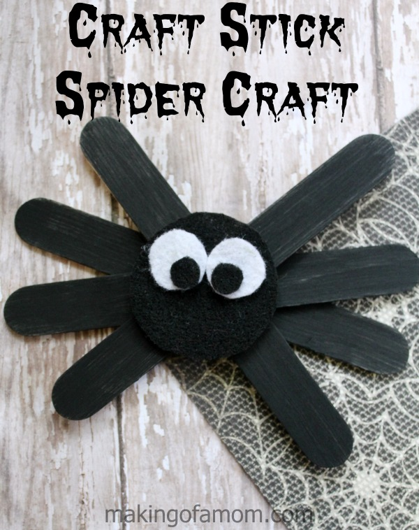 Craft Stick Spider