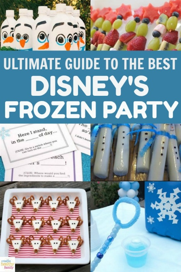 The ultimate guide to the best Disney Frozen birthday party for kids