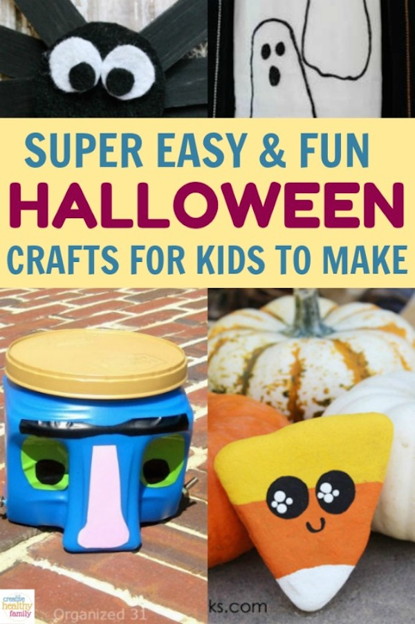 Halloween Easy Crafts For Kids