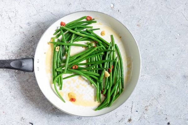 Chilli Garlic Green Beans