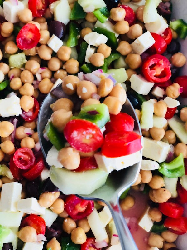 Easy Greek Salad with a Twist