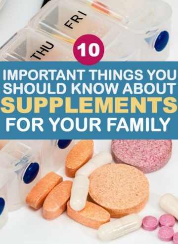 supplements for families